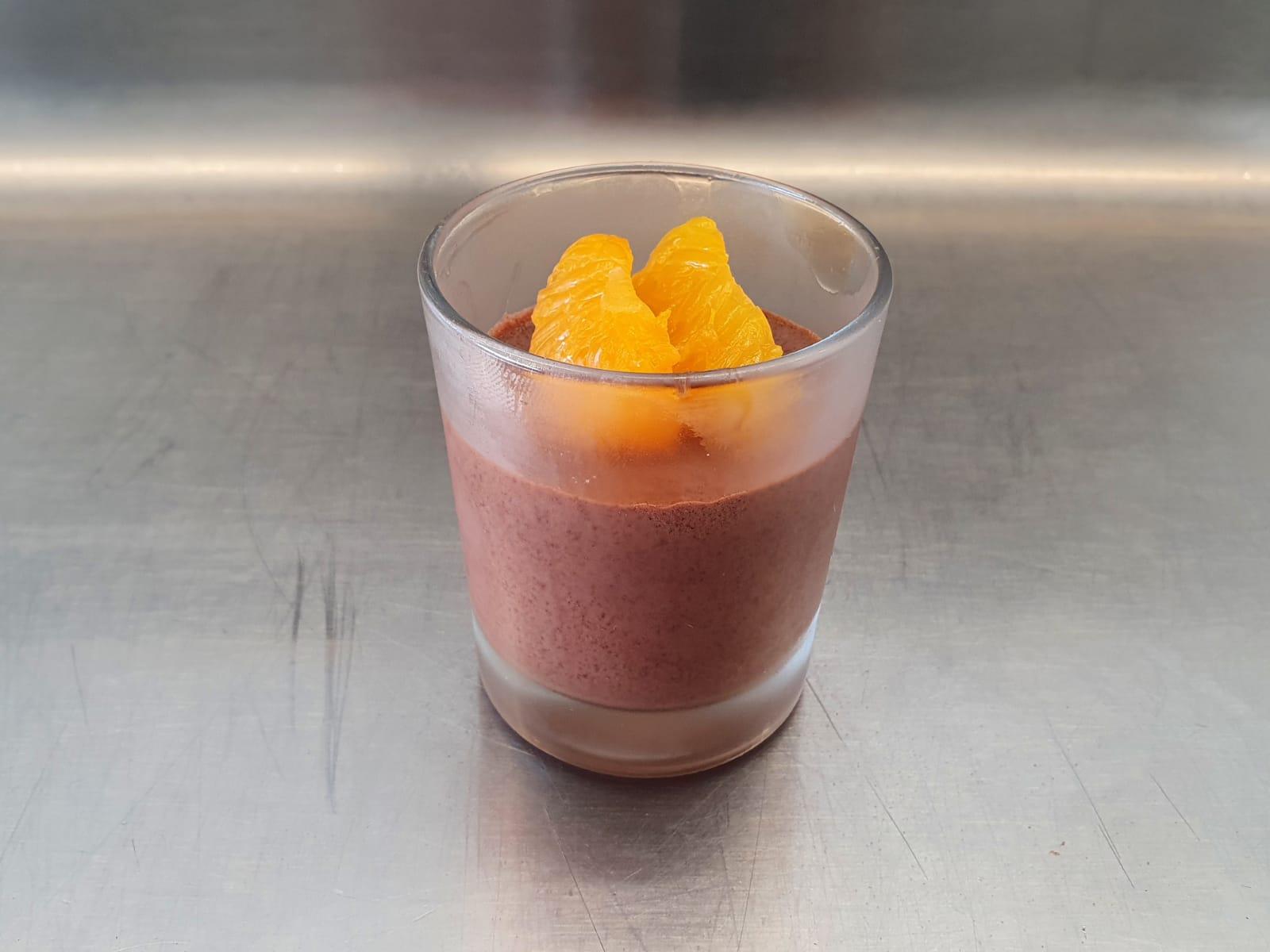 Mousse au Chocolat im Dessertglas