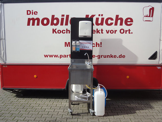 Mobiles Handwaschbecken / Hygienestation